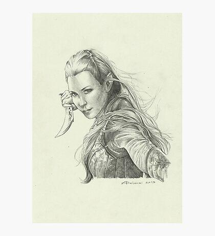 Daughter of Mirkwood Photographic Print