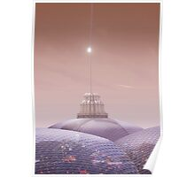 Sheffield And The Space Elevator Poster