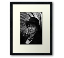 Lady Vampire at Fountains Abbey Framed Print