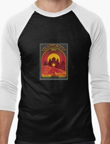 ULUWATU BALI SURFING Men's Baseball ¾ T-Shirt