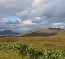 View from Knockan Crag by kalaryder