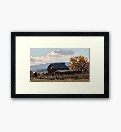 Mr. Jones had a barn ... Framed Print