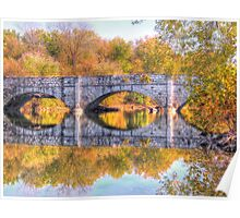 The C & O Canal HDR Poster