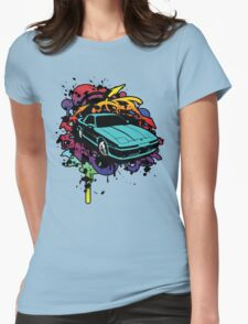 MA70 Supra Graffiti Womens Fitted T-Shirt
