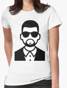 Kanye Womens Fitted T-Shirt