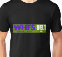 WHFS 99.1FM Alternative Radio Station Bumper Sticker Design Unisex T-Shirt
