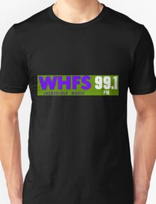 WHFS 99.1FM Alternative Radio Station Bumper Sticker Design T-Shirt