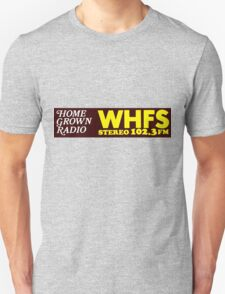 WHFS 102.3FM Alternative Radio Station Bumper Sticker Design T-Shirt