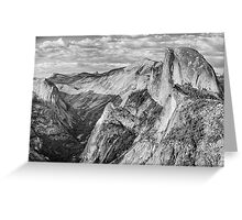 Afternoon at Half Dome Greeting Card