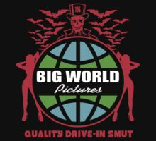 Big World Pictures Logo by James Bickert