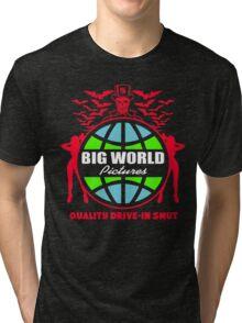 Big World Pictures Logo Tri-blend T-Shirt