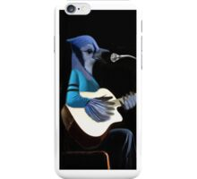 •♪♫•*¨*•BLUE JAY PLAYING GUITAR IPHONE CASE•♪♫•*¨*• iPhone Case/Skin