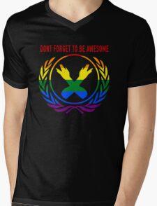 DFTBgAy Mens V-Neck T-Shirt