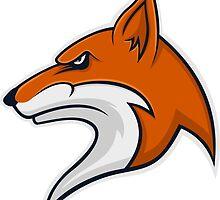 Fox Head by zaknafien