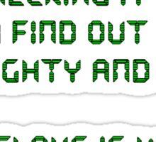Santa NSA 2 Sticker