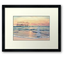 Remembering Your Baby This Christmas Framed Print