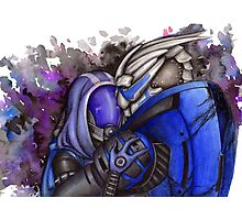 Tali and Garrus Photographic Print