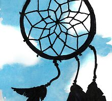 Dream Catcher by bryandraws