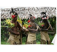 Indiginous Vanuatu Poster