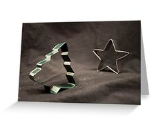 Christmas Cutters Greeting Card