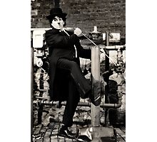 Charlie Chaplin art photo print Photographic Print