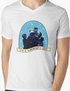 It's A Wonderful Life Mens V-Neck T-Shirt
