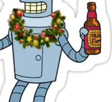 Christmas Robot Sticker