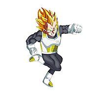 Super Saiyan Vegeta Dragon Ball Z: Resurrection F Photographic Print