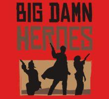Big Damn Heroes Kids Tee
