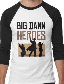 Big Damn Heroes Men's Baseball ¾ T-Shirt
