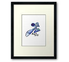 Megaman X (Megaman) Framed Print