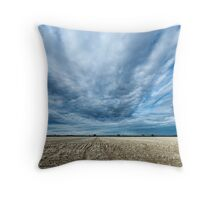 After Cropping - Brewarrina, NSW Throw Pillow