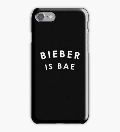 Bieber Is Bae iPhone Case/Skin