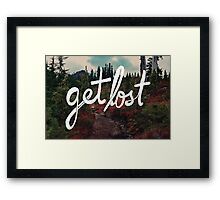 Get Lost in the Pacific Northwest Framed Print