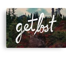 Get Lost in the Pacific Northwest Canvas Print