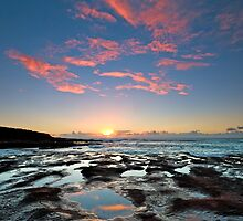 Kalbarri Sunset by Ladyshark