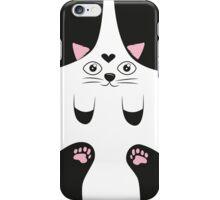 Lindo gatito  love iPhone Case/Skin