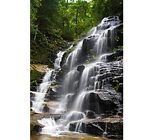 Blue mountains waterfall Photographic Print