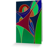 Joyous #2 Greeting Card