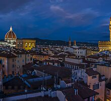 Night Time in Firenze by mhfore