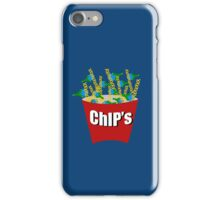 Hot ChiPs - Blue iPhone Case iPhone Case/Skin