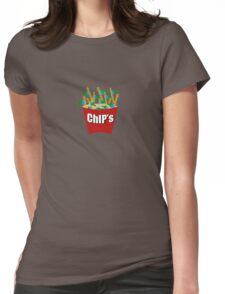 Hot ChIPs   Womens Fitted T-Shirt