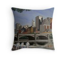 melbourne rowing club Throw Pillow