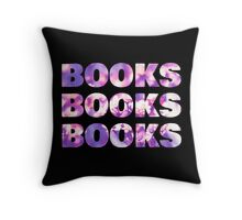 Books Books Books (2) Throw Pillow