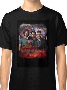 Supernatural Family dont end with blood 3  Classic T-Shirt