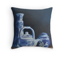 China Blue Throw Pillow