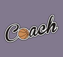 Basketball Coach Kids Tee