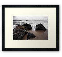 Tidal Framed Print