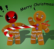 DeadPool X-Mas by Jetti