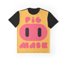 Pig Mask Logo Graphic T-Shirt